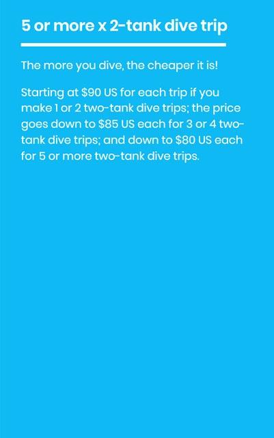 five tank dive trip hover